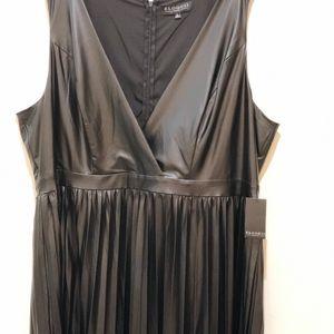a9c6fb74d9c Eloquii Dresses - 🍒NWT Eloquii faux leather dress size 22